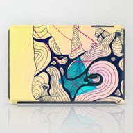 iPad Case featuring Rhino Ripples by Gaspart