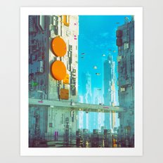 THIRTY-FIVE (everyday 06.20.16) Art Print