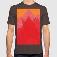 T-shirt featuring Colorful Red Abstract Mo… by ANoelleJay