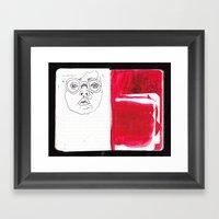 Journal Framed Art Print