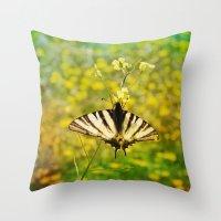 Little Butterfly Throw Pillow
