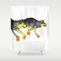 Going Wild 3 Shower Curtain