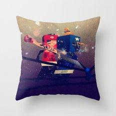 Amateurs Throw Pillow