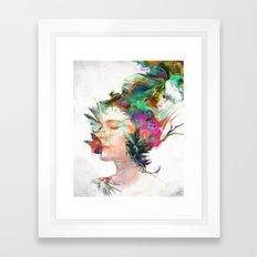 Breathe Me Framed Art Print