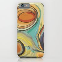 iPhone & iPod Case featuring Tree Stump Series 2 - Illustration by Angelina Bowen