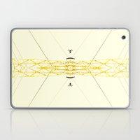 Yellow Structure Laptop & iPad Skin