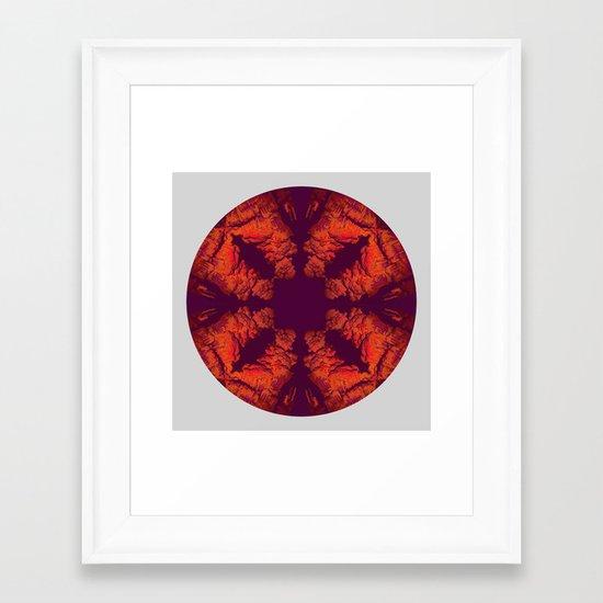 Mandala X Framed Art Print