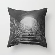 Almost There: Stepping I… Throw Pillow