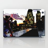 Spiderman in London Close up iPad Case