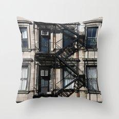 Around Soho, in NYC Throw Pillow