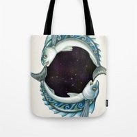 INKYFISH - Southern Hemisphere Tote Bag