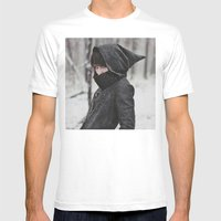 She Was An Assassin Mens Fitted Tee White SMALL