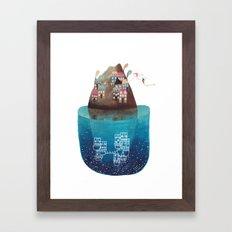 Island III Framed Art Print