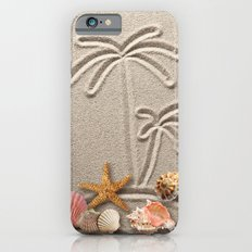 Pearl on Sand iPhone 6s Slim Case