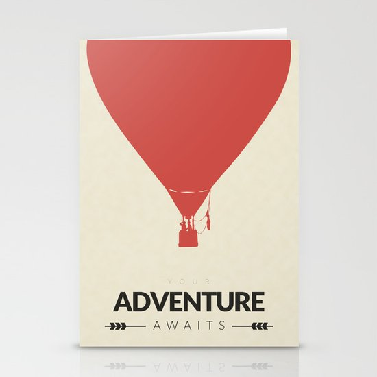 Your Adventure Awaits Stationery Card