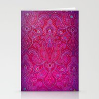 Paisley Jewels Stationery Cards