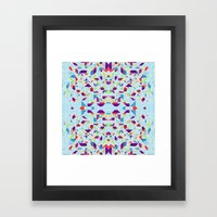 BlueGeo Framed Art Print