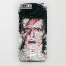 David Bowie Newspaper Style Slim Case iPhone 6s