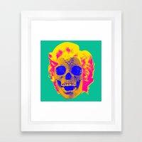 Norman Bates' Mom Framed Art Print