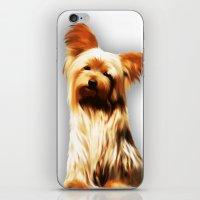 Yorkshire Puppy Tiny Dog iPhone & iPod Skin