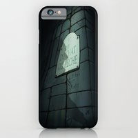 iPhone & iPod Case featuring Rue du Chat-qui-Pêche by Ilaria Lazzaroni