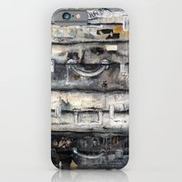 vieille valise iPhone 6 Slim Case