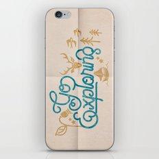 Go Exploring iPhone & iPod Skin