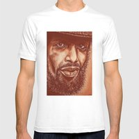 The Story Of G.S.Heron-3… Mens Fitted Tee White SMALL