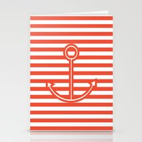 Sailing forward Stationery Cards