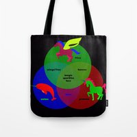 Magic Sparkles & Love Tote Bag