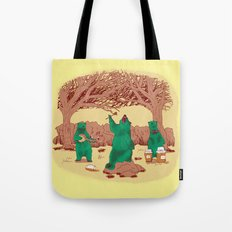 Rock The Forest Tote Bag
