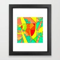 Tropical Farm 4 Framed Art Print