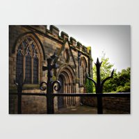 Medieval Canvas Print