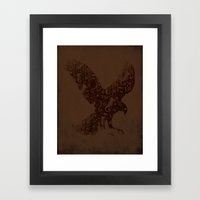 The National Bird Framed Art Print
