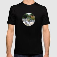 A Hole New World  Black Mens Fitted Tee SMALL