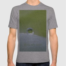 Perfect balance Mens Fitted Tee Athletic Grey SMALL