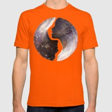 I'm With You II Mens Fitted Tee Orange SMALL