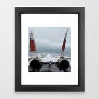 Tom Cat, Fighter Jet Framed Art Print