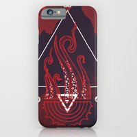 Mountain of Madness (red) iPhone 6 Slim Case