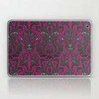 Aya damask fuchsia Laptop & iPad Skin