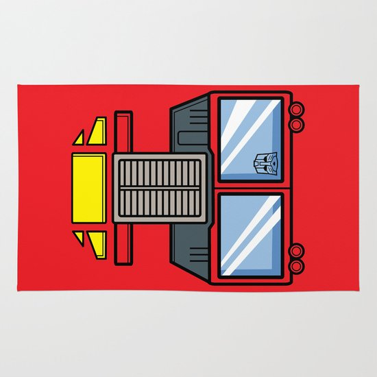 Transformers - Optimus Prime Area & Throw Rug