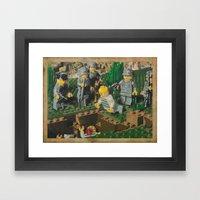 The Death of 90064 Framed Art Print