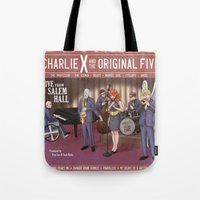 Charlie X And The Origin… Tote Bag