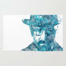 Walter White made of SkyBlue. Breaking Bad returns TONIGHT!!! Rug