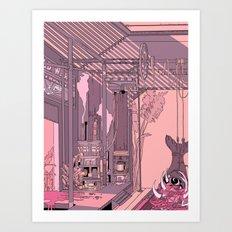 slaughterhouse Art Print