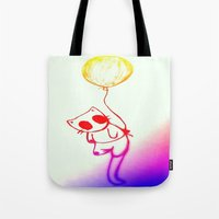 Balloon Animal (color) Tote Bag