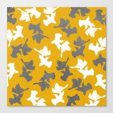 Goldfish Pattern Canvas Print