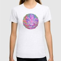 Out Of Bounds Womens Fitted Tee Ash Grey SMALL