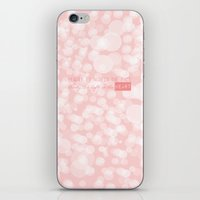 Beauty Is Not In The Fac… iPhone & iPod Skin