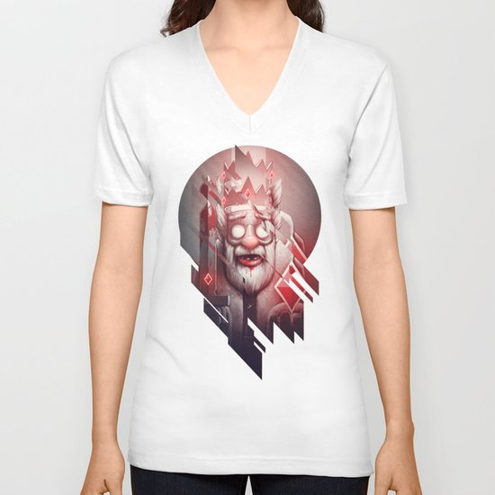 King of Doom V-neck T-shirt